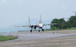 Trung đoàn Không quân 923 thực hiện thành công ban bay mẫu trên máy bay Su-30MK2