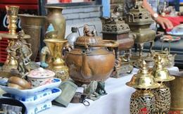 Độc đáo với phiên chợ đồ cổ, đồ xưa giữa lòng phố