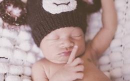 Hình ảnh con trai mới chào đời nhà Lý Hải - Minh Hà