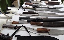 """Ngắm """"kho"""" vũ khí bị 141 thu giữ sau 5 năm hoạt động"""