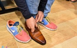 Black Friday: Thử giày một chân, chờ 30 phút để trả tiền