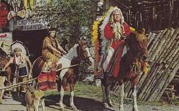Kỳ lạ chuyện anh hùng Liên Xô làm thủ lĩnh bộ tộc da đỏ Canada