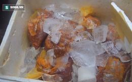 Hơn 700kg thịt bẩn, đã tẩm ướp gia vị chuẩn bị lên bàn ăn