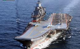 Tham chiến tại Syria, tàu sân bay Nga liệu có... chìm nghỉm?