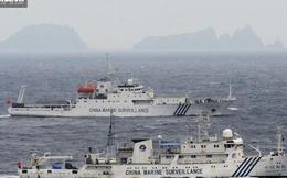 """Trung Quốc cay cú tố Nhật """"đục nước béo cò"""" trên biển Đông"""