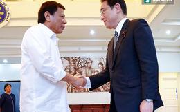 """Nhật Bản """"ra tay"""" khi Philippines tìm cách """"phá băng"""" với TQ"""