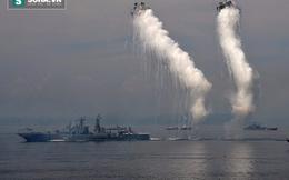 """Tàu hộ tống Nga tiêu diệt """"tàu ngầm lạ"""" ở Viễn Đông"""