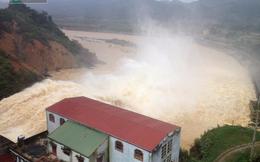 Mưa lũ ở miền Trung: Hình ảnh mới nhất từ thủy điện Hố Hô