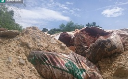 Đà Nẵng: Công ty môi trường chôn hàng trăm tấn chất thải nghi độc hại