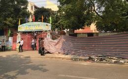 Hà Nội: Sập tường ở trường mầm non, 1 người tử vong