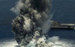 [VIDEO] Xem Hải quân Mỹ thử nghiệm tàu chiến với 4.5 tấn thuốc nổ