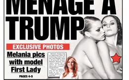 Ảnh khoả thân của vợ siêu mẫu có thể giúp Donald Trump