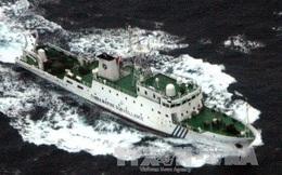 6 tàu hải cảnh TQ hộ tống hơn 200 tàu cá ồ ạt xâm nhập vùng biển Senkaku