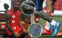 Ý nghĩa những hình xăm trên cơ thể Messi