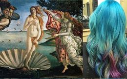 Mê mẩn với các tác phẩm tóc nhuộm đẹp chẳng kém kiệt tác hội họa