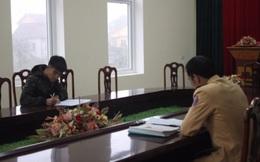 Tài xế lăng mạ CSGT Nghệ An bị phạt 25 triệu đồng