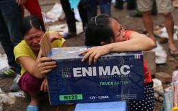 Khoảnh khắc đau đớn tột cùng trong vụ nổ ở Văn Phú