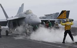 Tàu Trung Quốc bám đuôi tàu sân bay Mỹ trên biển Đông