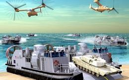 Mỹ triển khai chế tạo tàu đổ bộ đệm khí thế hệ mới cho Hải quân