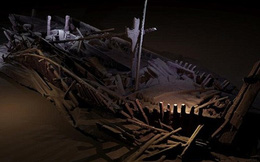 """Phát hiện xác 40 """"tàu ma"""" dưới đáy biển Đen"""