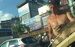 Sự thật bất ngờ về ông Tây lau kính trên phố Hà Nội
