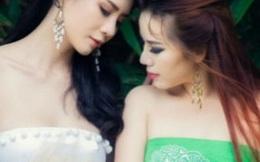 Lạ mắt với hình ảnh 2 thiếu nữ hóa thân thành 'Thanh xà Bạch xà' phiên bản 3D