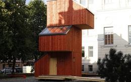 Sinh viên Phần Lan dựng nhà 3 tầng chỉ trong 24 giờ, chi phí 15.000 USD