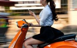 Chủ nhân ảnh thiếu nữ 'không cần nhìn đường vẫn lái xe' lên tiếng