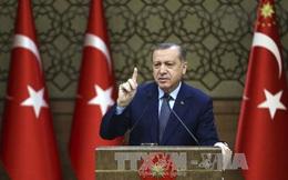 Tổng thống Thổ Nhĩ Kỳ cáo buộc liên quân Mỹ hỗ trợ khủng bố