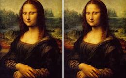"""90% người không thể nhận ra điều bất thường trong """"siêu họa phẩm"""" Mona Lisa của Da Vinci"""