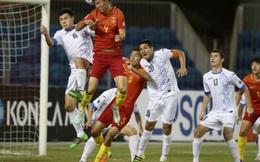 """Vớt vát chút danh dự, U19 Trung Quốc """"nổ tưng bừng"""" sau trận hòa 0-0"""