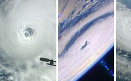Trạm vũ trụ ISS công bố hình ảnh 3 cơn bão lớn ngoài đại dương