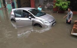 Hình ảnh mới nhất về ngập nặng ở Hà Nội