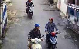 Bắt băng trộm ở Sài Gòn qua hình ảnh camera