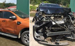 2 ô tô rượt đuổi, ép xe kinh hoàng trên quốc lộ, nhiều phát súng nổ trong đêm