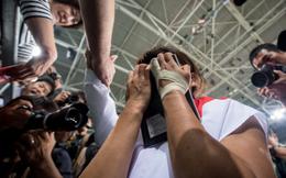 Xúc động võ sĩ Nhật khóc bên di ảnh mẹ trong ngày đi vào lịch sử Olympic