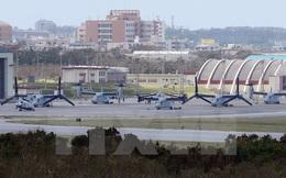 Nhật Bản nối lại việc xây dựng căn cứ không quân Mỹ tại Okinawa