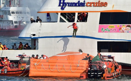 Lực lượng bảo vệ bờ biển Hàn Quốc diễn tập bắn đạn thật, giả định trấn áp tàu Trung Quốc!