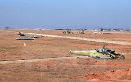 Máy bay chiến đấu của quân đội Syria bị phiến quân IS bắn rơi