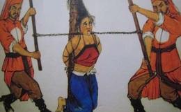 Khốc liệt bậc nhất sử Việt: Vợ đánh chồng xử đến treo cổ, chém đầu, tùng xẻo!