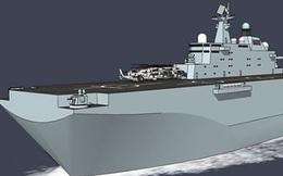 Trung Quốc sắp đóng tàu đổ bộ cỡ lớn thế hệ mới