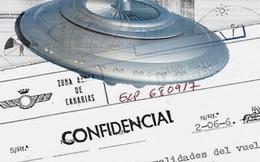 Bộ Quốc phòng Tây Ban Nha tiết lộ tài liệu mật chấn động về UFO