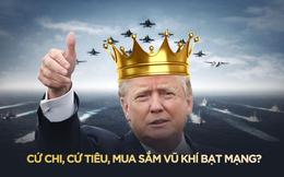 """Nước Mỹ """"nín thở"""" nhưng """"sôi sục"""" trước mộng bá chủ quân sự toàn cầu của Trump!"""