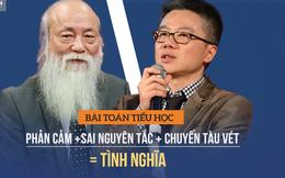 Dân nghèo, quan tham và bài toán tiểu học khiến GS Ngô Bảo Châu, PGS Văn Như Cương bó tay