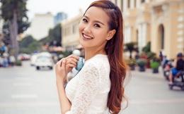 Học trò Phạm Hương dịu dàng xuống phố