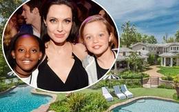 Angelina Jolie và các con lại chuyển tới biệt thự lộng lẫy mới gần nhà Kim Kardashian