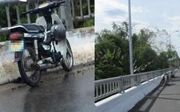 Tìm kiếm tung tích nam thanh niên nghi nhảy sông tự tử, để lại xe máy trên cầu