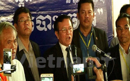 Tòa án Campuchia phạt tù lãnh đạo CNRP vì chống lệnh triệu tập