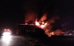 Một vụ cháy nhà chứa phế liệu ở Hải Phòng có dấu hiệu hình sự
