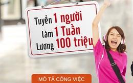 Ngân hàng Việt trả lương 100 triệu 1 tuần